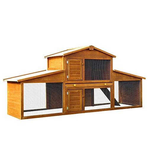 Casa Gato Exterior Impermeable Marca Pawhut