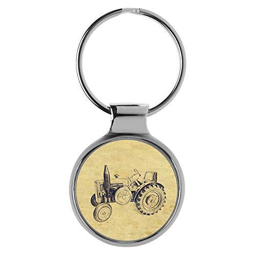 KIESENBERG Schlüsselanhänger Geschenke für Lanz Bulldog Traktor Trecker Fan A-20453