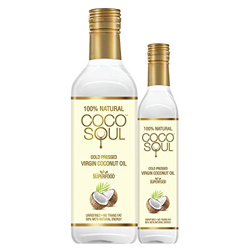 Coco Soul Cold Pressed Natural Virgin Coconut Oil From the makers of Parachute,1 L+250 ml