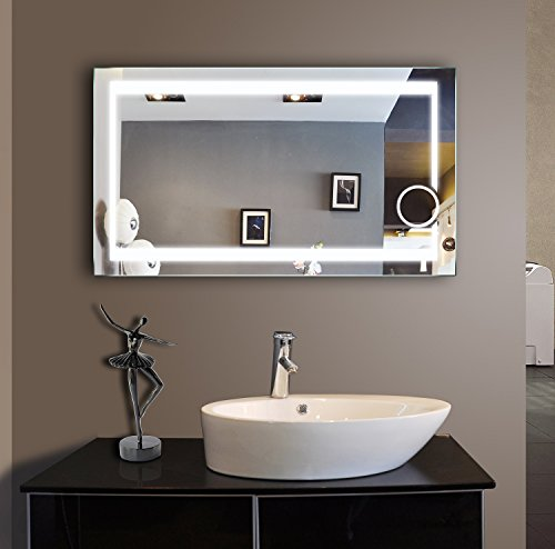 Where To Buy Lighted Bathroom Mirror 48 X 28 In