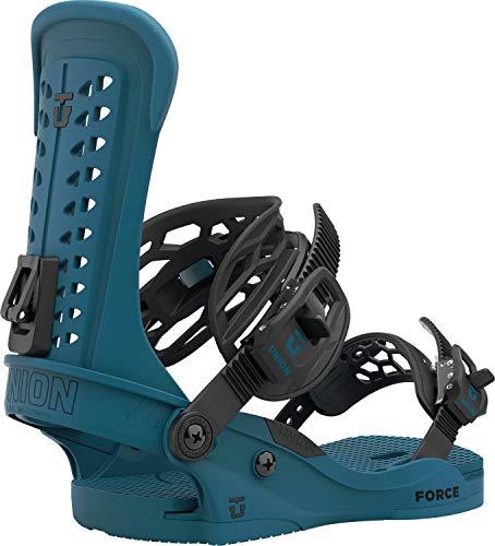 Union Force Herren Snowboard-Bindung, Größe M (36-38), Meeresblau