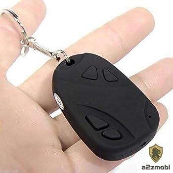 BT FASHION Keychain Spy Camera with Hidden Audio/Video Recording 32Gb Memory Support (Black)