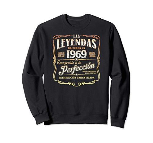 Las Leyendas Nacieron En 1969 Vintage Original 52 Cumpleaños Sudadera