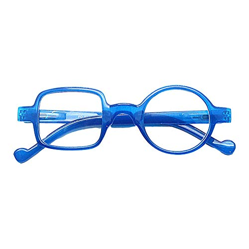 XWGlory Occhiali Da Vista Per Occhiali Da Lettura Quadrati Tondi Asimmetrici Retrò Leopardati Da Donna