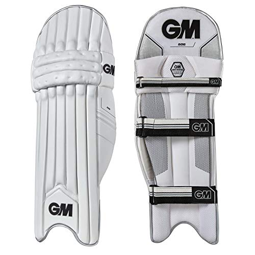 Gunn & Moore Unisex's 606 Batting Pad 2018, Black, JOne sizeor RH