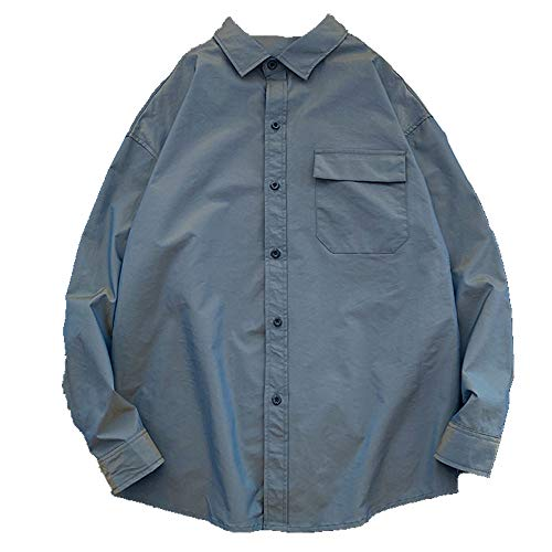 N\P Camisa de manga larga para hombre camisa de manga larga para hombre