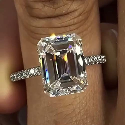 Anillo de diamantes de laboratorio...