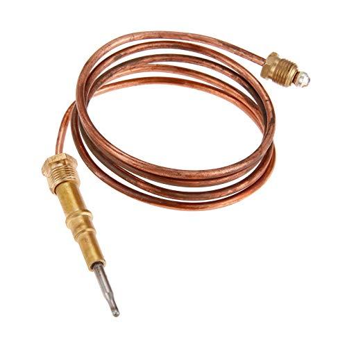 Aupoko Universal-Gas-Thermoelement, 69,8 cm, direktes Entlüften, Thermoelement, Flammenausfall, Sicherheitsgerät Temperatursensor 446-511, geeignet für Hitze, Glo und Kamine