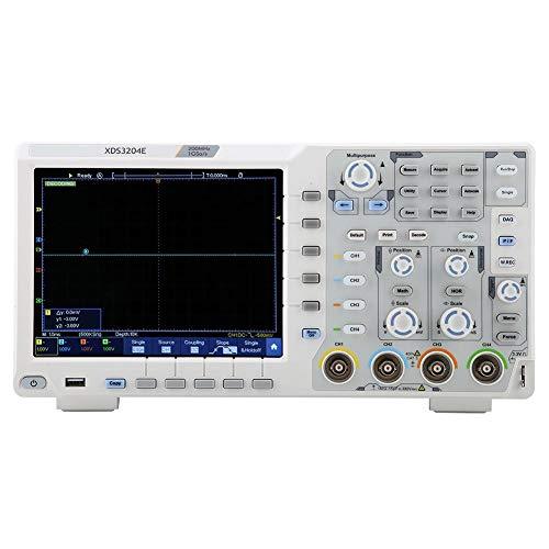 Oszilloskop OWON XDS3204E Oszilloskop 200MHz DSO 4Ch 1GS/S 8Bits 70.000 Wfms/s 40M Re 100-240V(EU220V)
