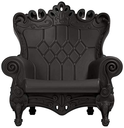 Design of Love Queen of Love Fauteuil Noir Jet