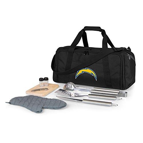 NFL Los Angeles Chargers BBQ Kit/Kühltasche mit Grill- und Picknickzubehör