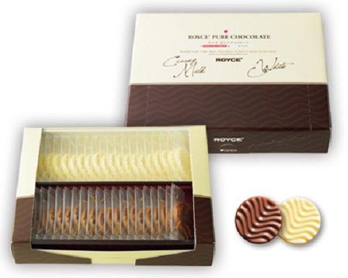 Royce Pure Chocolate - cremiger Milch- und Weißschokoladengeschmack - Die berühmteste Schokolade aus Hokkaido Japan