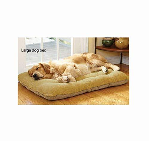 lyf Großes Hundebett, Lammfell und Wildleder, beide Schichten können platziert Werden, abnehmbar, waschbar