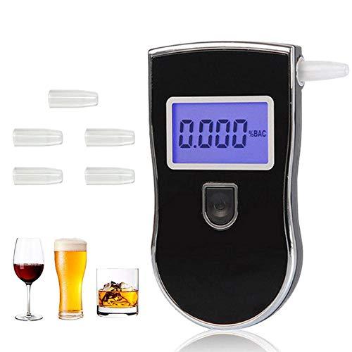 Huakaimaoyi Alcoholímetro de Alcoholímetro, Pantalla LCD D