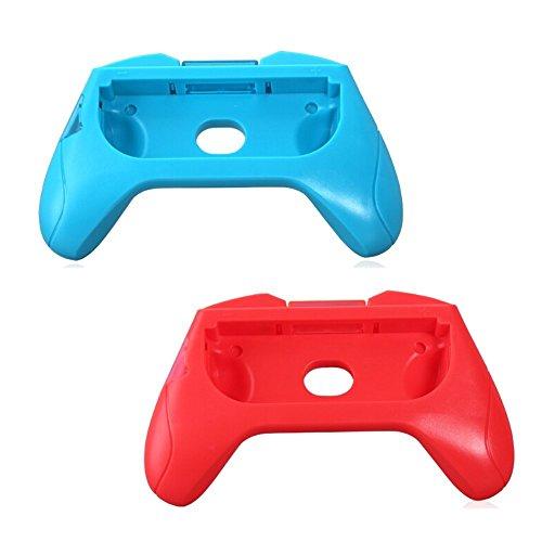 Amazingdeal365– Lot de 2 supports de manettes Joy-Con gauche et droite en ABS