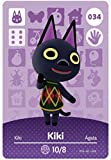No.034 Kiki Nintendo Switch Animal Crossing Amiibo Cards Series 1. Bank Card Size. Third Party NFC Card. Water Resistant. Wearable and Durable