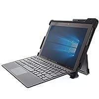 Gumdrop DropTechケース Lenovo Miix 520 Miix 510 2-in-1 ノートパソコン用 商用/ビジネス/オフィス必需品 ブラック 頑丈 衝撃吸収 落下防止