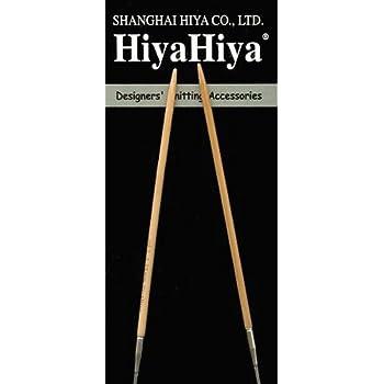 "HiyaHiya 0.7mm x 150cm 60/"" Stainless Steel Circular Knitting Needles"