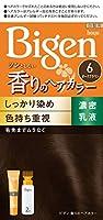 ビゲン香りのヘアカラー乳液6 (ダークブラウン) 40g+60mL ホーユー×5個