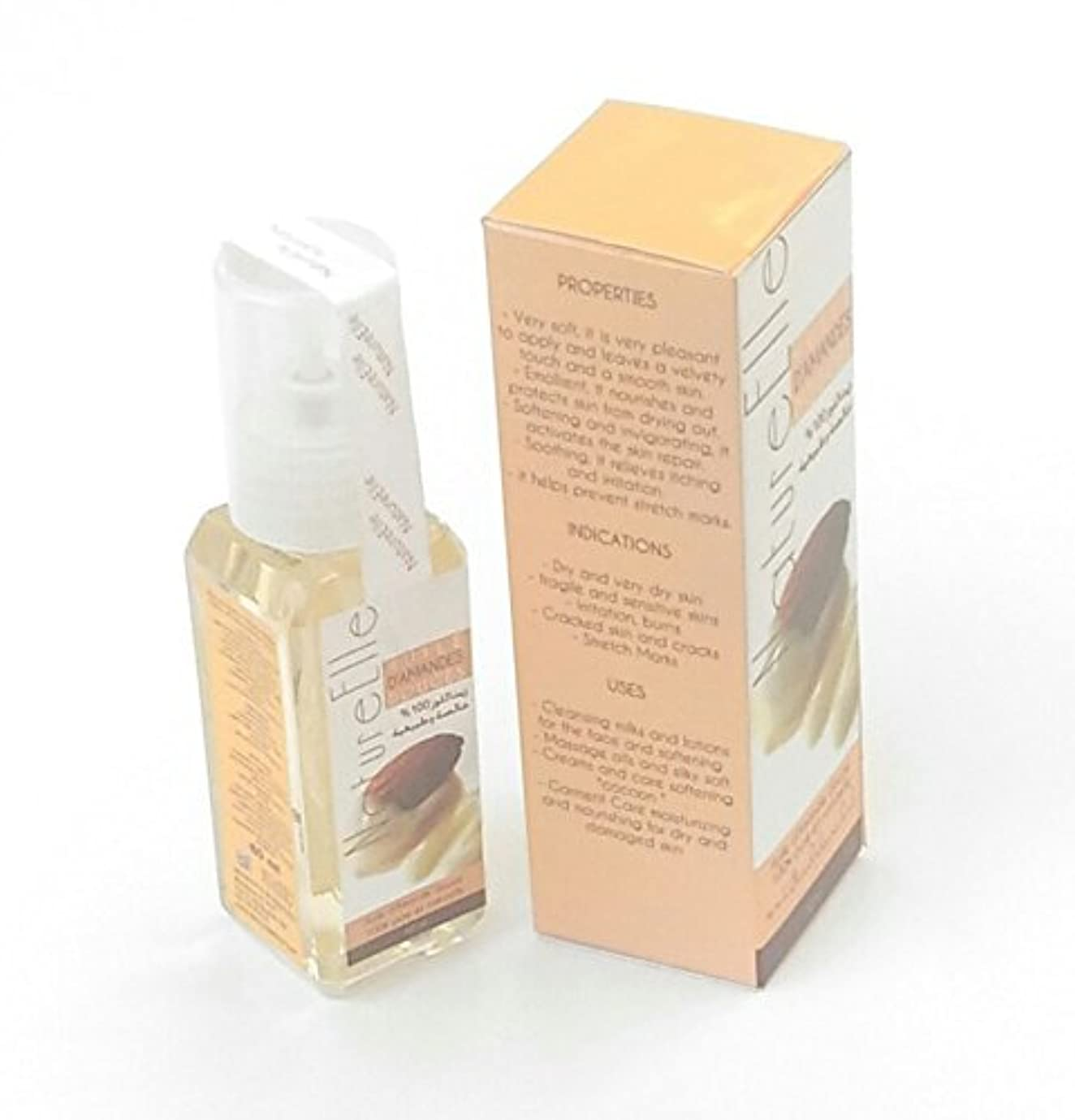 残り物遅れ準備したNatureElle The Pure Sweet Almond Oil 100% Pure and Natural - Delivery Express in three working days - Shipping traced - 60 ml [並行輸入品]