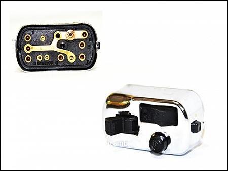 Interruptor luces para Vespa 90/125/150/180 Primavera-GT-GTR-VNB-VBB-Sprint-S fast-Rally