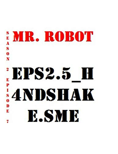Mr. Robot eps2.5_h4ndshake.sme Quotes Library Decorative Birthday Gift ( 110 Page Big Size ) Notebook Collection A decorative book for coffee tables, ... and interior design styling: Tv Show Notebook