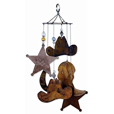 Sunset Vista Designs Horsing Around Western Wind Chime, Small