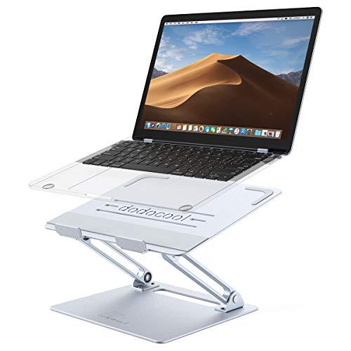 Soporte Portatil dodocool Suporte Ajustável Portátil Laptop, Alumínio Ventilado Plegable Sporte. Soporte...