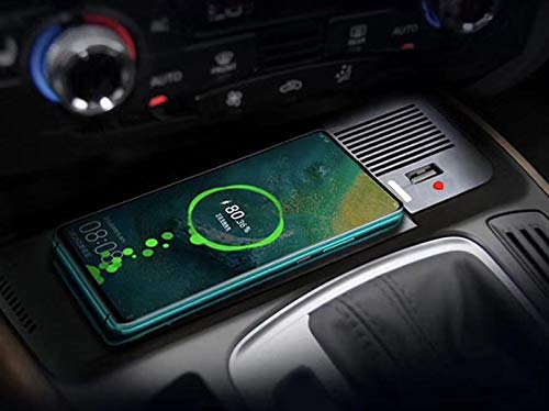 XUNGED 10W coche QI cargador inalámbrico for Audi Q5 2018 2009-2017 carga inalámbrica del cargador del teléfono Accesorios aptas for el iPhone 8 en forma for Samsung S6 Accesorios de auto
