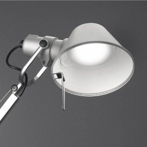 Artemide Tolomeo Midi Tavolo LED, Aluminium poliert & eloxiert, 3.000 K