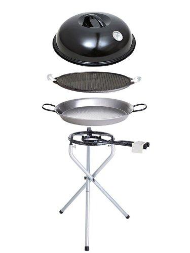 Paella World International Paella-Grill-Set Portabel Nr.1, Mehrfarbig, 5-teilig