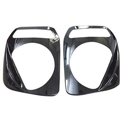 SODIAL 1 Paire De Voiture Phare Abat-Jour Bouclier De Protection Décoratif Baffle Phare Abat-Jour Garniture pour Suzuki Jimny 2007-2015 Noir