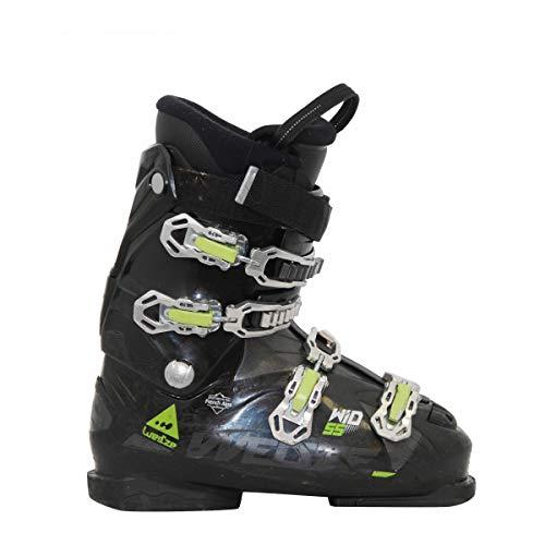 Bota de esquí usada wed'ze wid 55 Verde Negro
