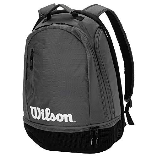 Wilson(ウイルソン) テニス バッグ バドミントン ラケットバッグ TEAM BACKPACK(チームバックパック) GREY WRZ854996 ウィルソン