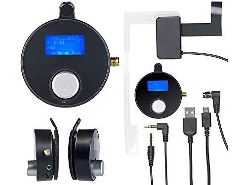 auvisio DAB Autoradio: DAB+/DAB-Empfänger mit FM-Transmitter, AUX-Audioausgang, für Kfz/HiFi (Adapter DAB)