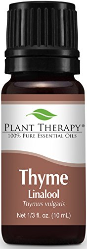 Plant Therapy Thyme Linalool Essential Oil 10 mL (1/3 oz) 100% Pure, Undiluted