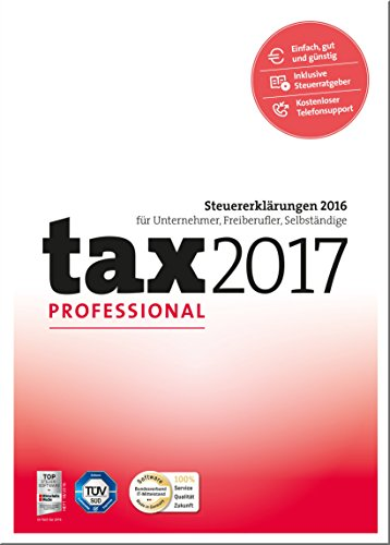 tax 2017 Professional (für Steuerjahr 2016) [PC Download]