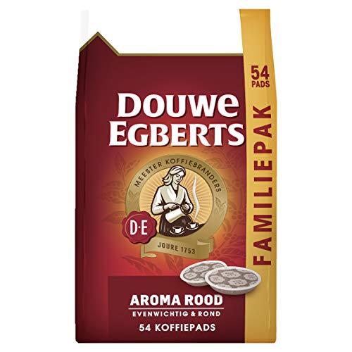 Douwe Egberts Koffiepads Aroma Rood, Familiepak, (216 Pads, Geschikt voor SENSEO Koffiepadmachines, Intensiteit 05/09…