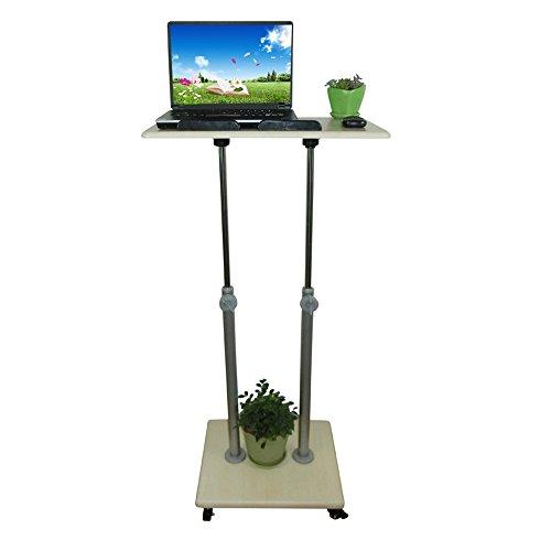 Desk XIAOLIN Stand-up Computer Mobiele Verstelbare Hoogte Lezen Bescherming Van Cervical Health Station Zit Horloge Schrijven Office Internet Laptop Optionele Grootte