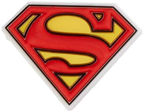 Crocs Jibbitz Superhero Shoe Charm | Personalize with Jibbitz for Crocs Superman Logo One-Size