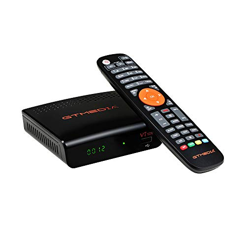 GT MEDIA V7S2X HD DVB-S/S2/S2X Receptor Satélite HD 1080P decodificador TV Receptor Digital Soporte Youtube, PVR, Newcam, PowerVu