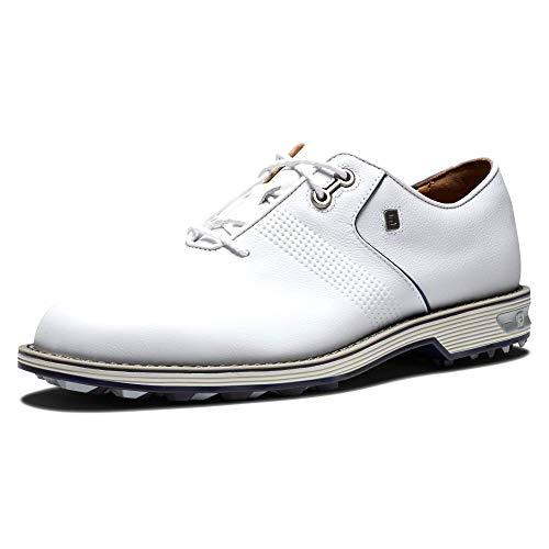 Footjoy Herren PRESMIERE Series Flint Golfschuh, weiß, 40 EU