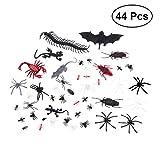 BESTOYARD realistische Tier streich Spielzeug insekt Spinnen fledermäuse Bugs fliegen Skorpion...