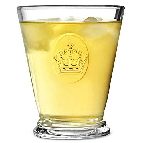 La Rochère-gobelets Couronne 260 ml-Lot de 6 Verres à Pied 26 cl La Rochere Gobelet Rochere, La couronne