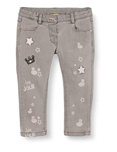 Chicco Baby-Mädchen Pantaloni Lunghi Jeans, Grigio, 74