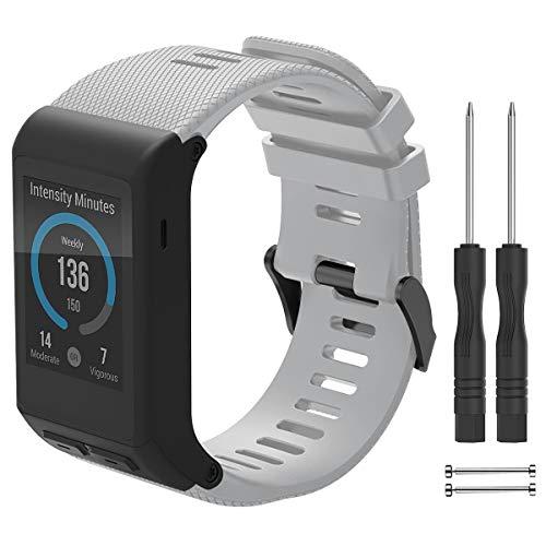 YASPARK Cinturino Vivoactive HR, Cinturino di Ricambio Silicone Sport Braccialetto Replacement Morbido Cinturino per Vivoactive HR Sports GPS Smart Watch