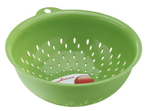 K0616001 Fresh Kitchen Passoire Fruits et Légumes Plastique Vert,MOULINEX,