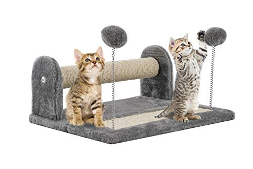 ADEPTNA Sturdy Durable Pet Cat Kitten Cat Scratching Post and Foldable Cats...