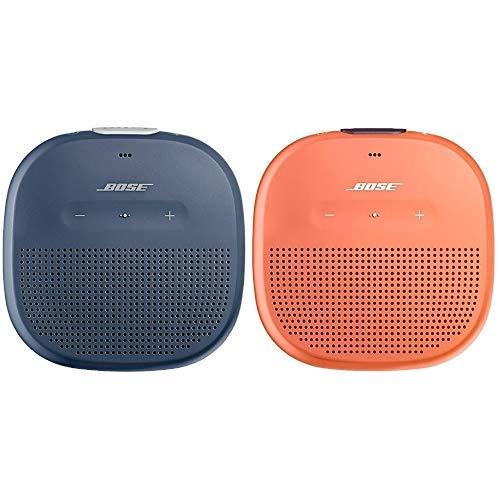 Bose ® SoundLink Micro Bluetooth-Lautsprecher dunkelblau & Micro Bluetooth-Lautsprecher orange