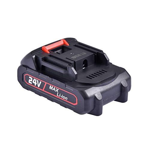 24V Batería De Repuesto Batería De Litio para Sierra Eléctrica Batería Recargable Adecuado para Mini Sierras De Mano De 6 Pulgadas